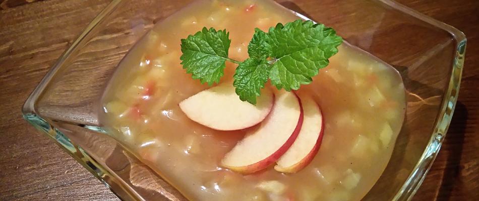 Rezept Apfel-Vanille-Grütze (HI)